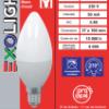 Ampoule LED Flamme lisse 3000K 6 W 500L E14 -Bx1