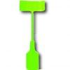 Luminaire silicone vert : douille E27 + rosace + câble textile 1m