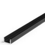 Profilé LED SLIM8 /1m alu anodisé noir (A/Z)