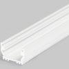 Profilé LED UNI12 /1m alu laqué blanc (BCD / U)