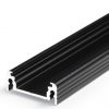 Profilé LED SURFACE14 /1m alu anodisé noir (EF/TY)