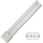 Fluocompacte 2G11 1200LM 18W 4000K Blanc neutre