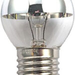 Ampoule Incand. Calotte argentée Ronde E27 25W