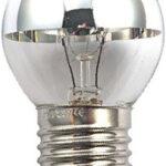 Ampoule Incand. Calotte argentée Sphérique E27 40W