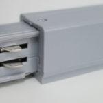 Connecteur pour rail 3 phases couleur gris XTS11