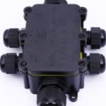 Boitier connecteur 6 sorties  IP68 section câble 5-9 mmm