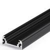 Profilé LED SURFACE10 /1m alu anodisé noir (BC/UX)