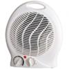 Radiateur soufflant électrique 2kW avec thermostat. Blanc -PR010