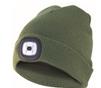 Bonnet LED rechargeable vert