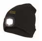 Bonnet LED rechargeable noire frontale+LED rouge AR