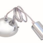 Suspension pour ampoules E27. Cable 90cm