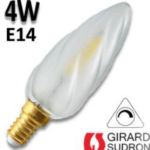 LED. Flamme  E14 300LM 4W 2700K Blanc chaud