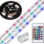 KIT Ruban LED Multicolore + Blanc Long 3,0m 30 led/Mètre 18 W