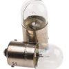 """Ampoule Miniature Ba15s 18×35 10W claire """"heavy duty"""" 24V"""