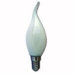Ampoule LED Filament Flamme coup de vent MILKY 4W E14 470Lm 4000K blanc neutre
