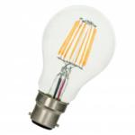 Ampoule LED Filament Standard 8W dimmable B22 880Lm 2700K blanc chaud