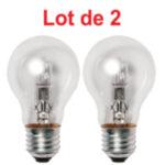 Lot de 2 Ampoules Halogène Standard 53W B22 824Lm
