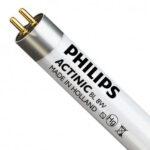 Tube Actinique PHILIPS BL TL 8W/10 1FM/10x25CC