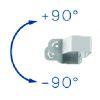 Tourillon pour SOLAAR 8 +90/-90°