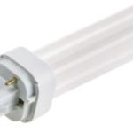 Ampoule Fluocompacte G24-d2 18W 2700K blanc chaud