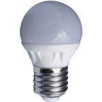 Ampoule LED Mini-sphérique 3W E27 250Lm 2700K blanc chaud