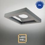 Cadre métal pour panel LED 30×30 finition époxy gris