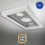 Cadre Design métal LED 30x60cm finition époxy blanc
