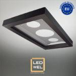Cadre Design métal LED 30x60cm finition époxy noir