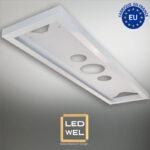 Cadre Design métal LED 30x120cm finition époxy blanc