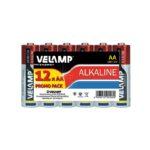 Pile Alcaline LR6 AA – Pack de 12