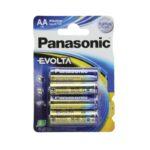 Pile Alcaline Panasonic LR6 AA EVOLTA – blister de 4
