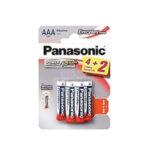 Pile Alcaline Panasonic LR03 AAA EVERYDAY POWER – blister de 4 + 2 offertes