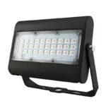 Projecteur LED 50W 5800Lm IP66 étanche 3000K blanc chaud