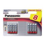Pile Alcaline Panasonic LR03 AAA EVERYDAY POWER – blister de 8